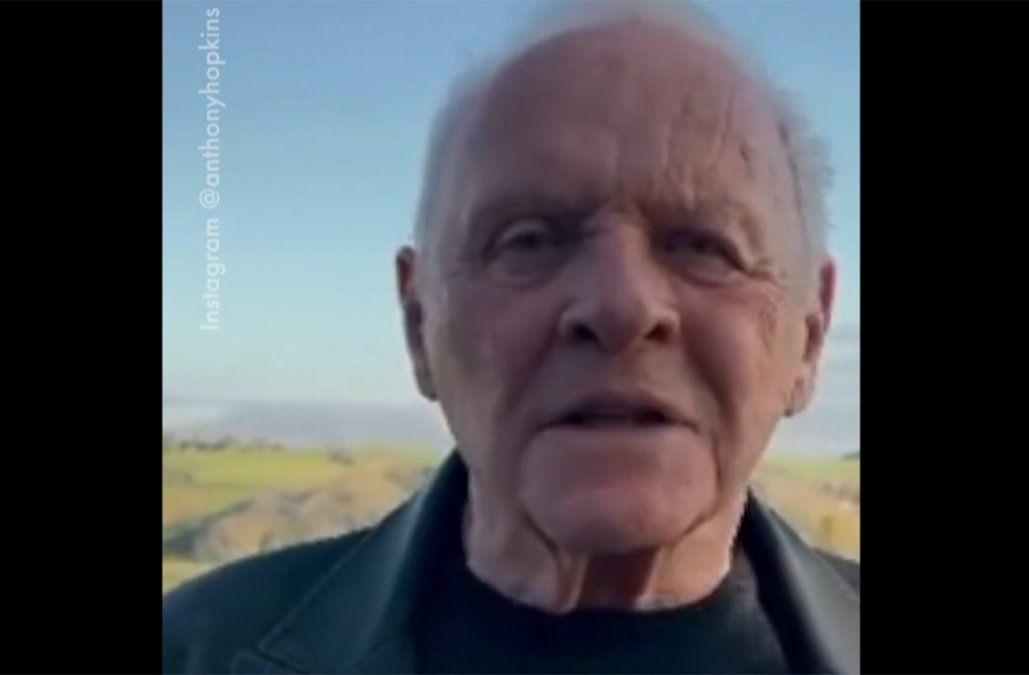 Anthony Hopkins, el actor más longevo en ganar el Oscar, responde a sus seguidores