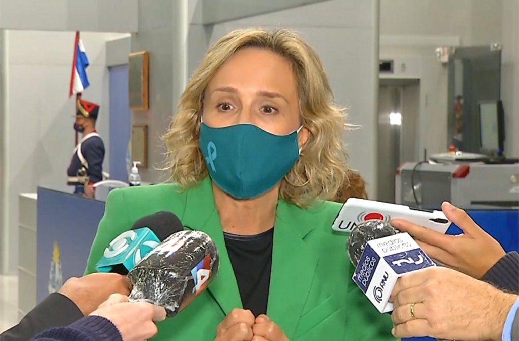 Laura Raffo le presentó a Lacalle Pou propuestas para reactivar empleo