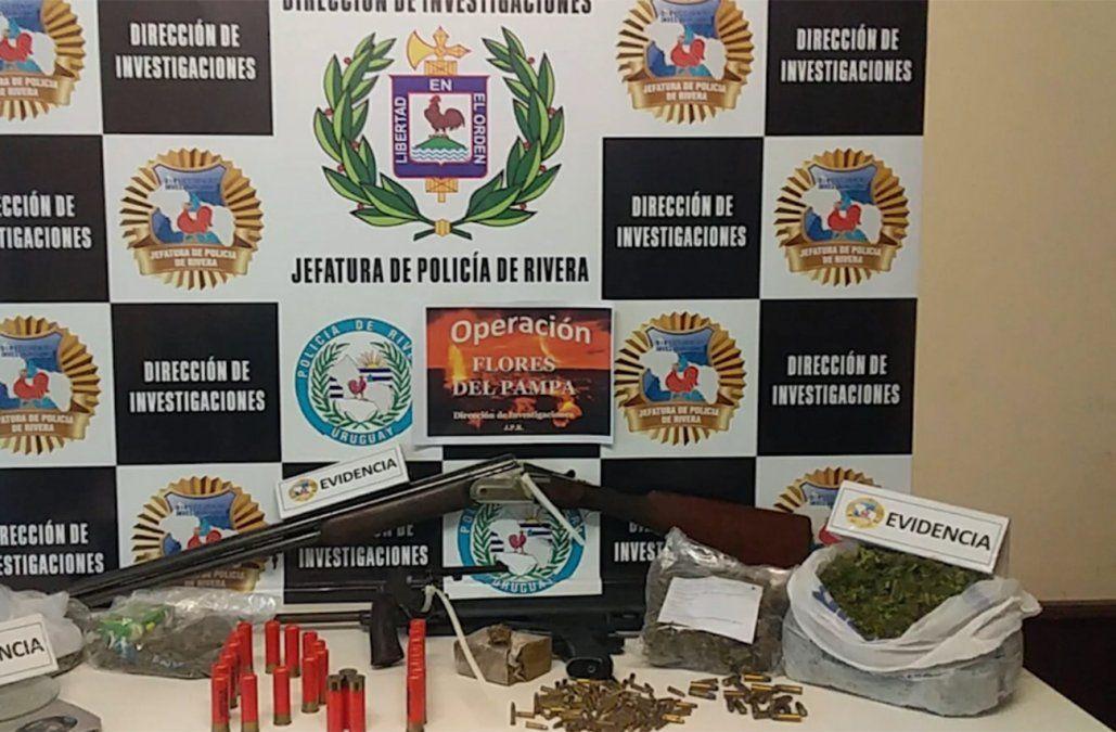 Tras Operación Flores del pampa, 21 personas fueron condenadas por contrabando en Rivera