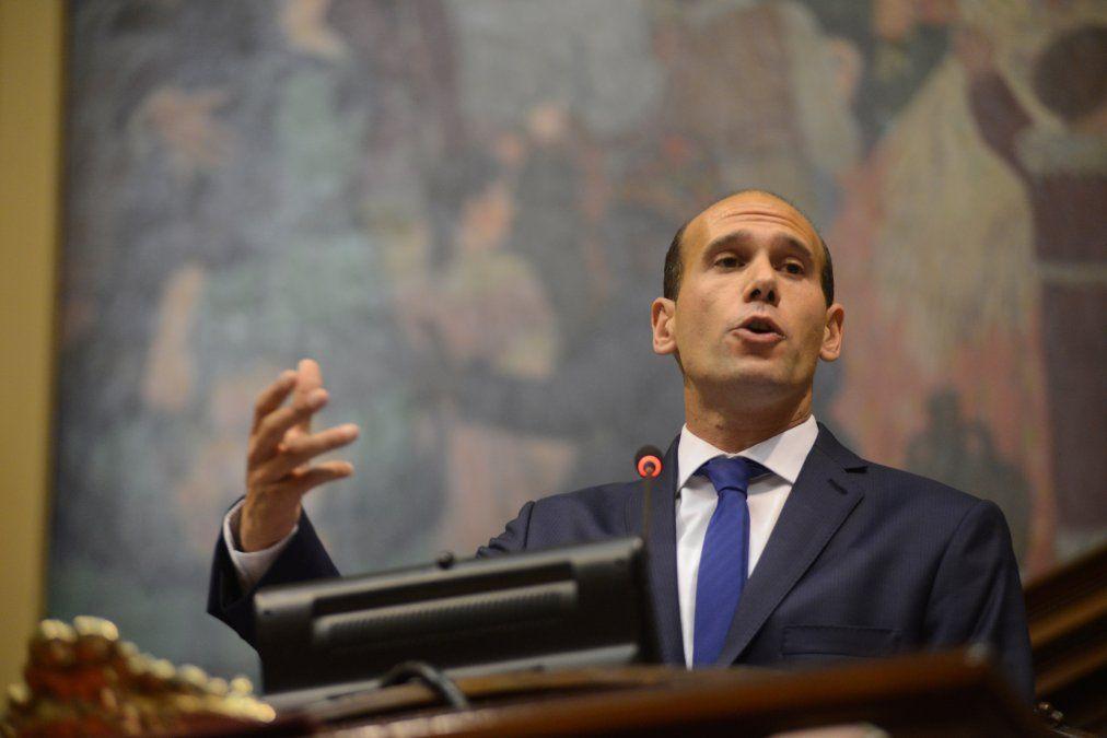 Martín Lema anunció al salir de la presidencia de Diputados que se ahorró 4 millones de dólares en un año.