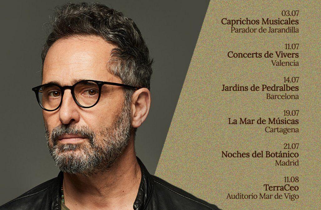 Jorge Drexler premiado con La Mar de Músicas 2021, realiza gira por España