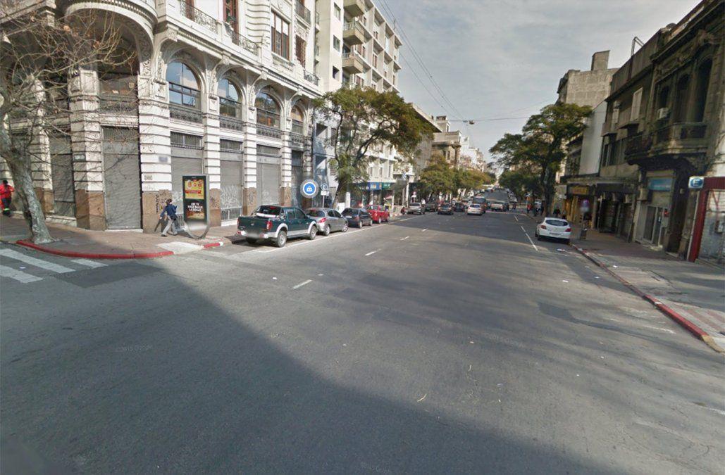 Hombre en situación de calle falleció esta madrugada en el Centro de Montevideo