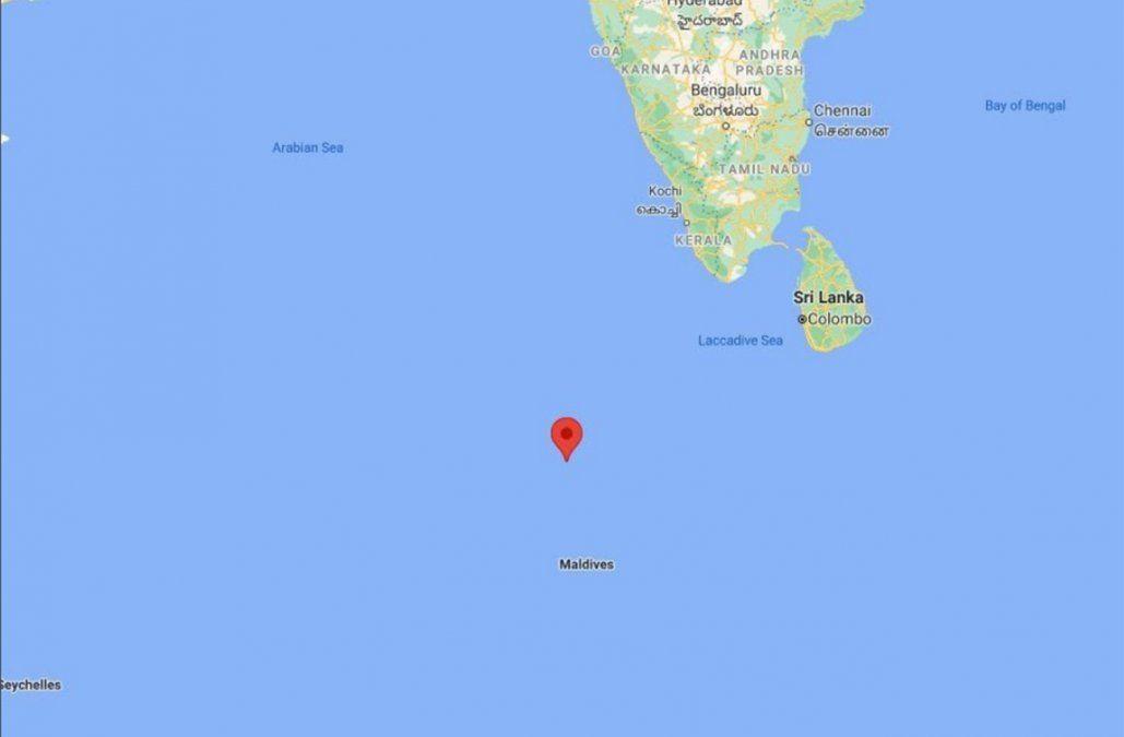 Un segmento del cohete chino se desintegró sobre el océano Índico
