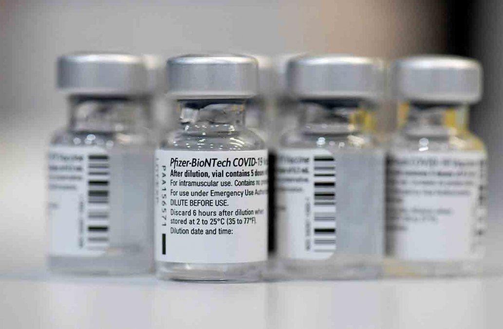 Arribó un nuevo cargamento de 80.730 vacunas de Pfizer