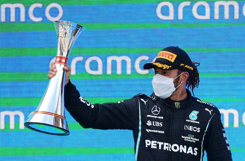 Lewis Hamilton gana el GP de España