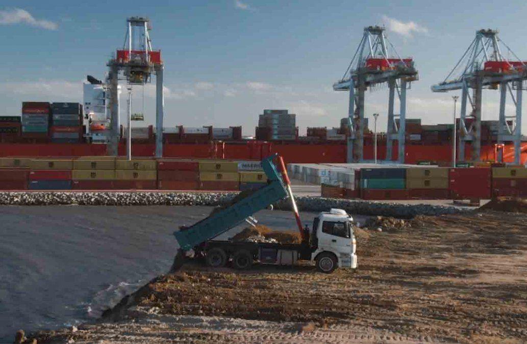Katoen Natie comienza obras de expansión del Puerto de Montevideo