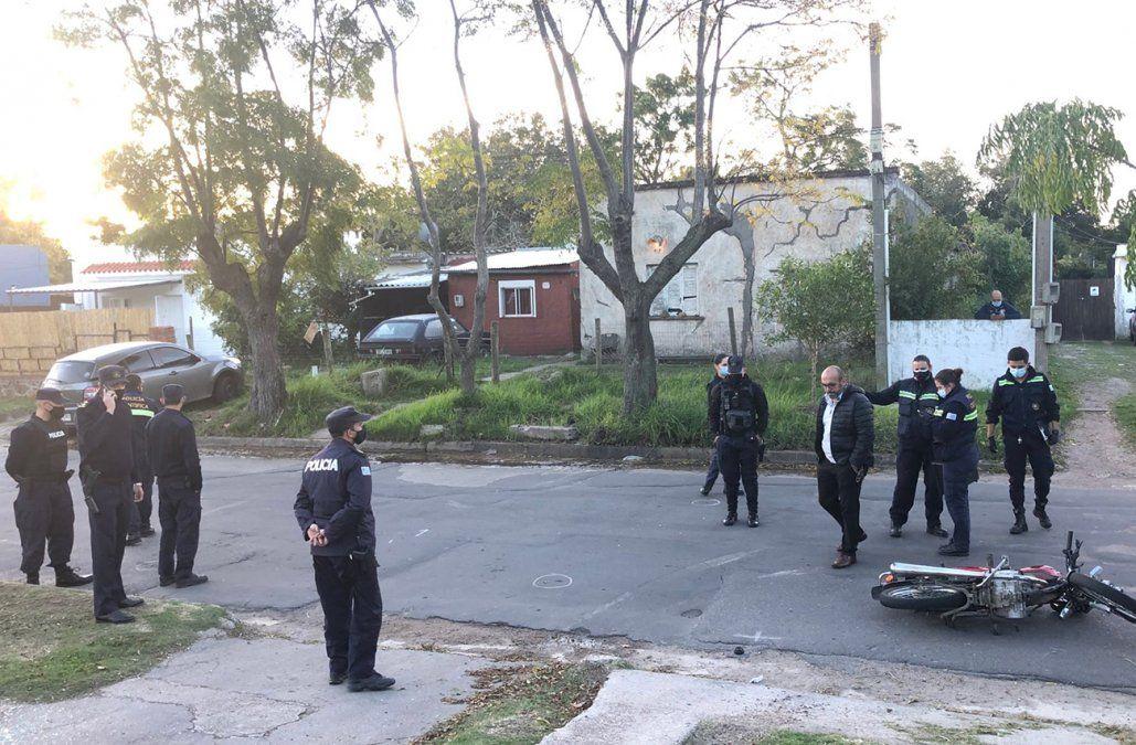 Un expolicía fue baleado en el pecho tras intento de rapiña a una remesa