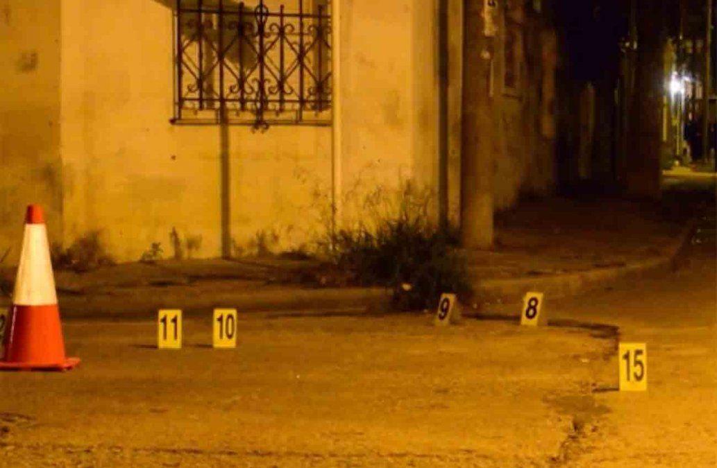 Funcionaria policial sobrevivió a un tiroteo; la bala le rozó el rostro