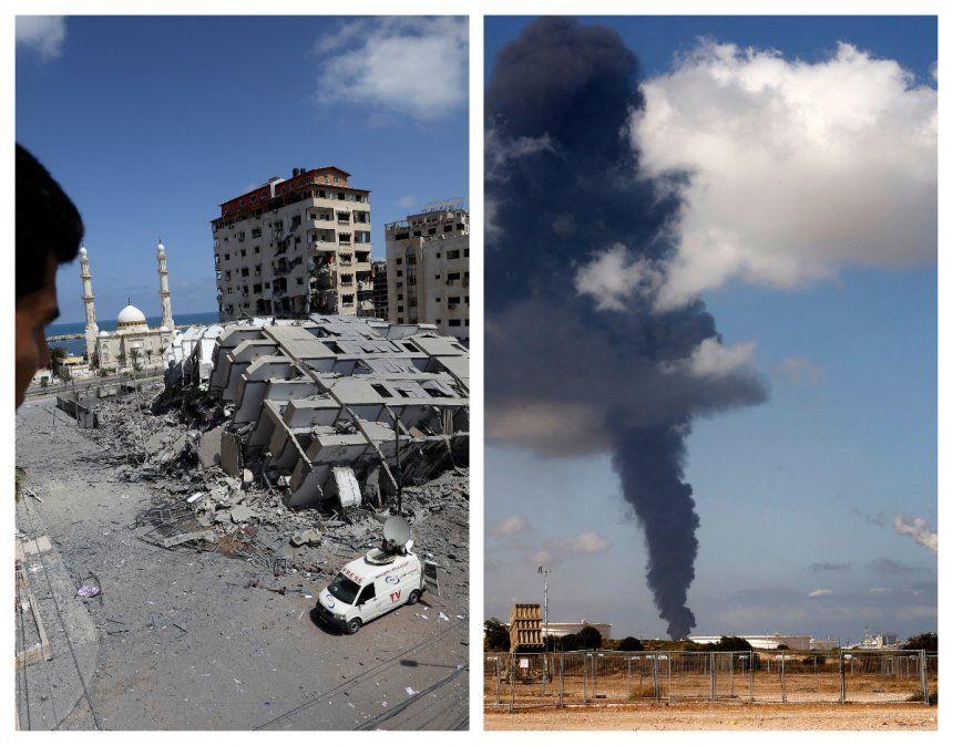 Enfrentamientos entre Israel y los palestinos dejan ya 50 muertos