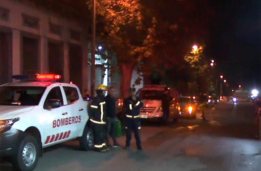 Incendio en un refugio del Mides afectó a dos personas en Tres Cruces