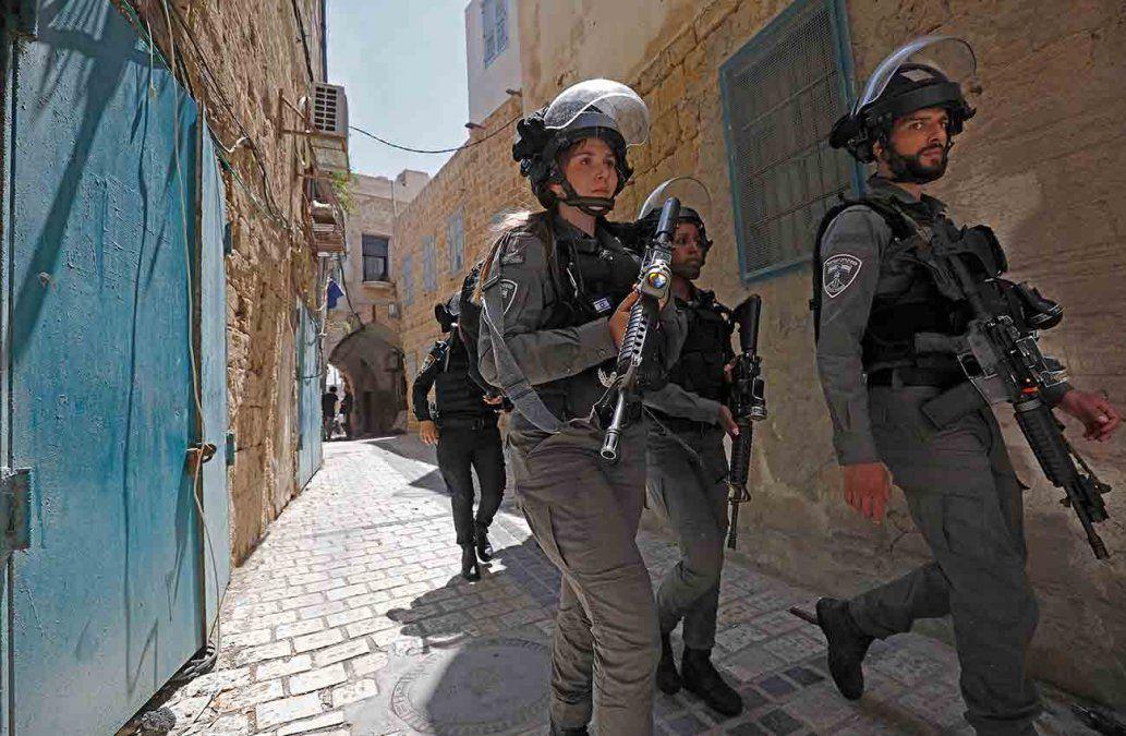 Israel anuncia despliegue masivo de fuerzas de seguridad para frenar violencia interna en ciudades