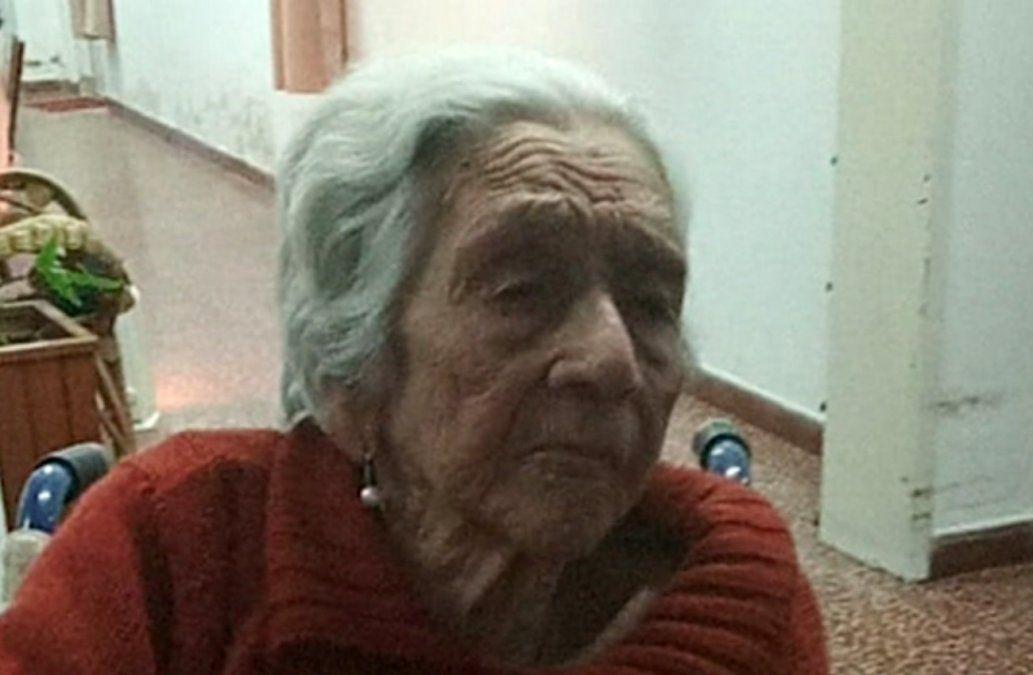 Con 103 años, Dulcelina superó el Covid-19 tras recibir dos dosis de la vacuna Pfizer
