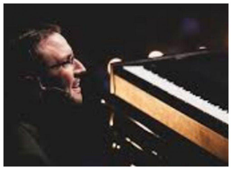 Freijido en el momento más notorio de su carrera como músico y docente