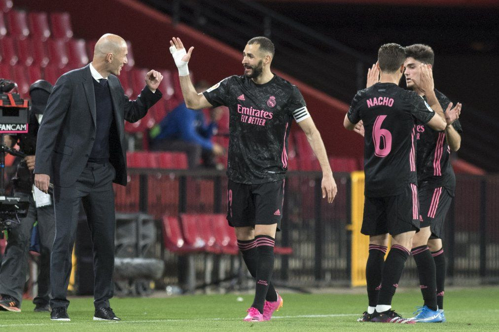 Real Madrid le gana al Granada y presiona al Atlético: quedó a dos puntos del líder de la LaLiga