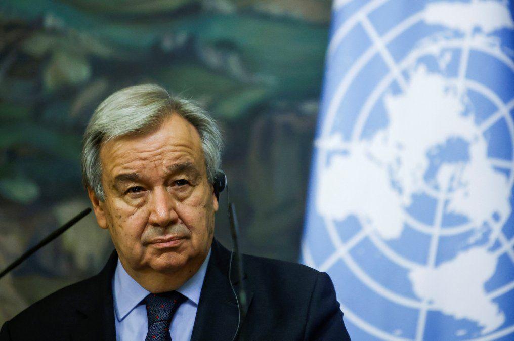 La crisis en Oriente Medio puede tornarse incontrolable, dice jefe de la ONU