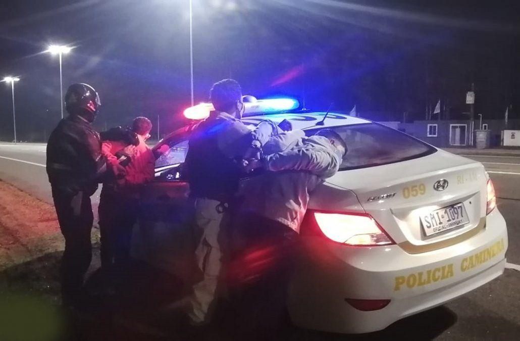 Caminera recupera ocho vehículos robados en procedimientos realizados en rutas