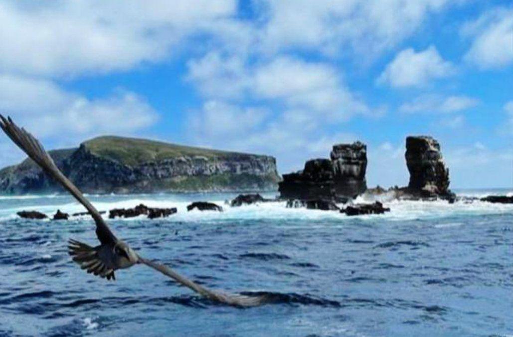 El Arco de Darwin en las islas Galápagos colapsó debido a la erosión