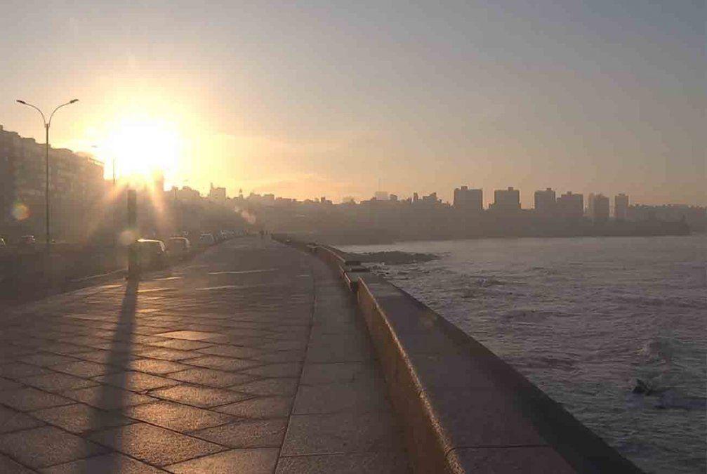 Tiempo algo nuboso y máxima de 18ºC en Montevideo