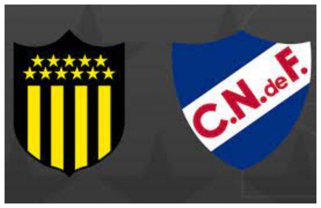 Supermartes de fútbol con Peñarol y Nacional por Copas internacionales