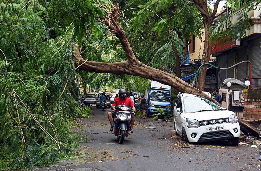 Así quedaron las calles de Bombay