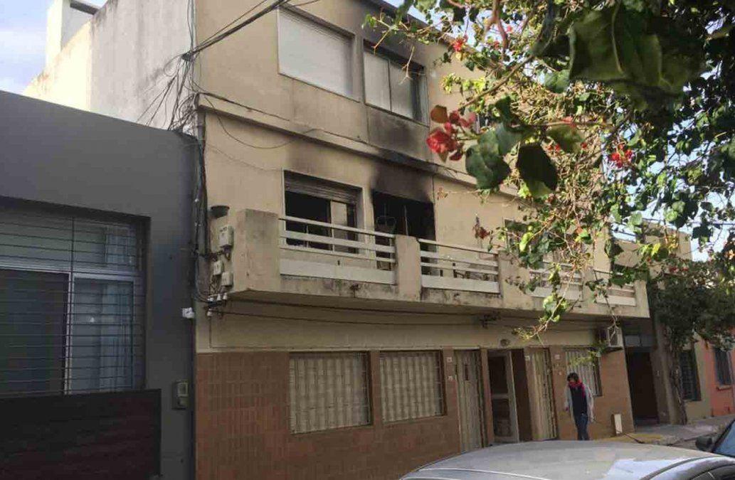 Incendio en un edificio de Pocitos terminó con diez personas intoxicadas