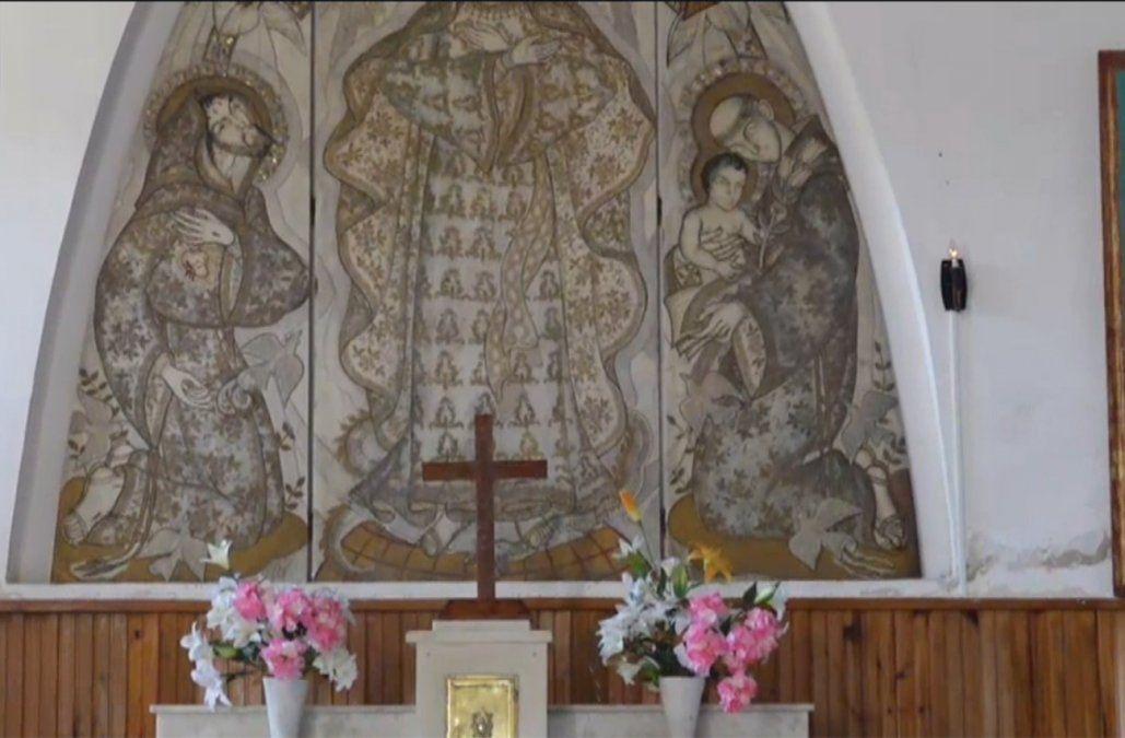 Indignación: robaron el Cristo y cables de cobre de una parroquia
