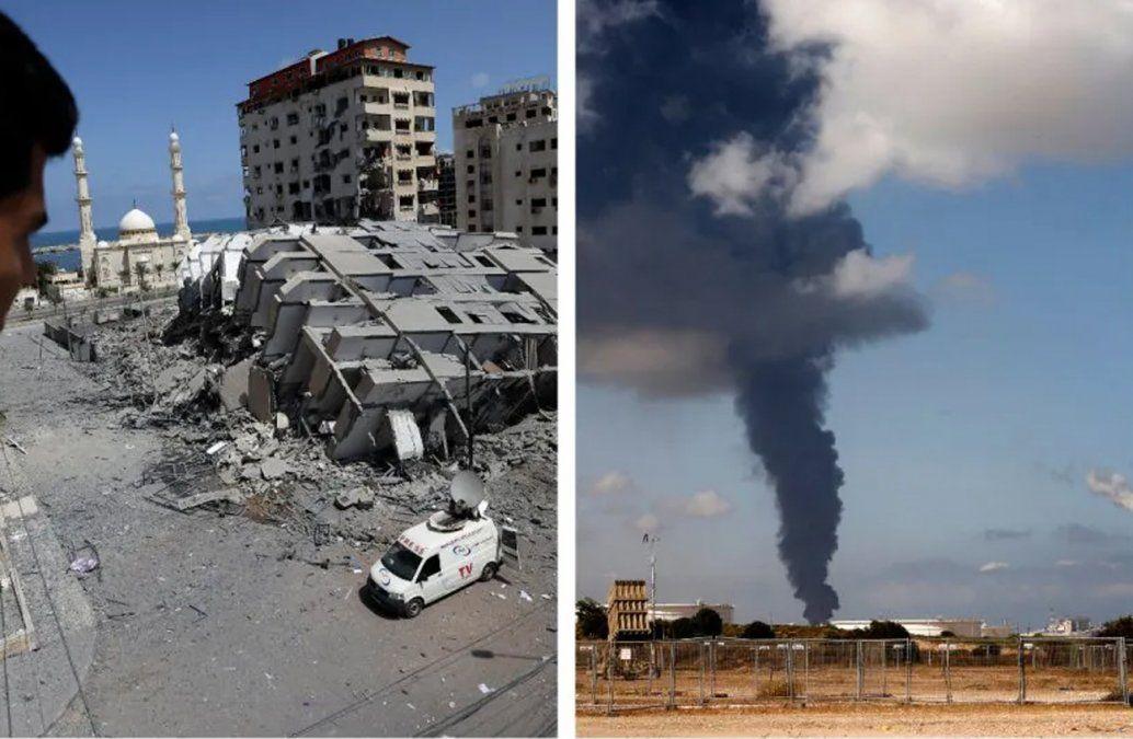 Israel y Hamás aprobaron un cese al fuego en Gaza tras mediación internacional