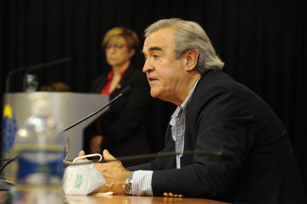 Falleció el ministro Jorge Larrañaga de un infarto este sábado de tarde