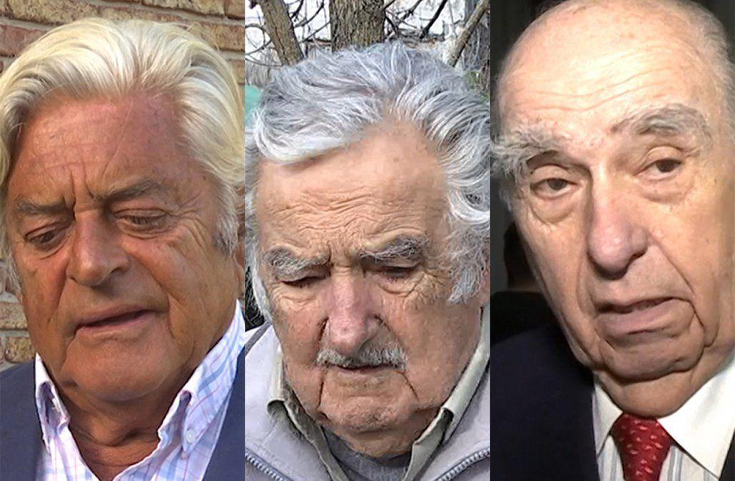 Los ex presidentes de la República recuerdan a Larrañaga como un hombre bueno y leal