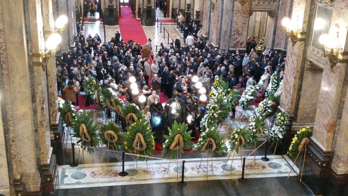 Conmovedora despedida con honras fúnebres y cortejo por el Partido Nacional