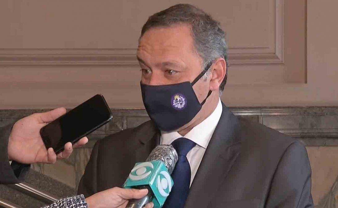 Delgado aseguró que la pérdida de Larrañaga será difícil de llenar