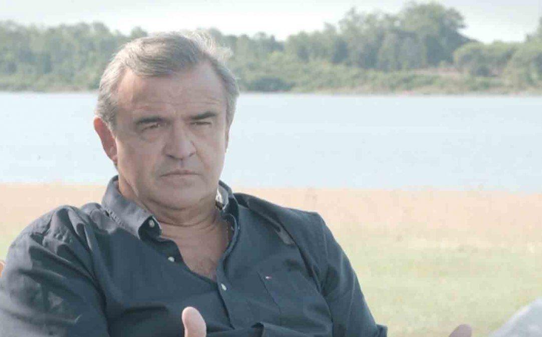 El apodo el guapo me lo pusieron de gurí, relató Larrañaga en un documental