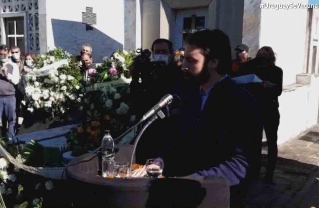 El mensaje de Juan, hijo de Jorge Larrañaga: Dame la mitad de tus fuerzas para seguir