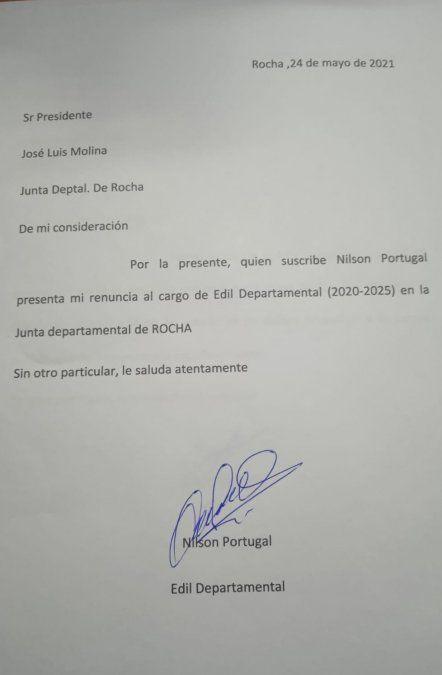 Renunció el edil del FA de Rocha cuestionado por comentarios antisemitas