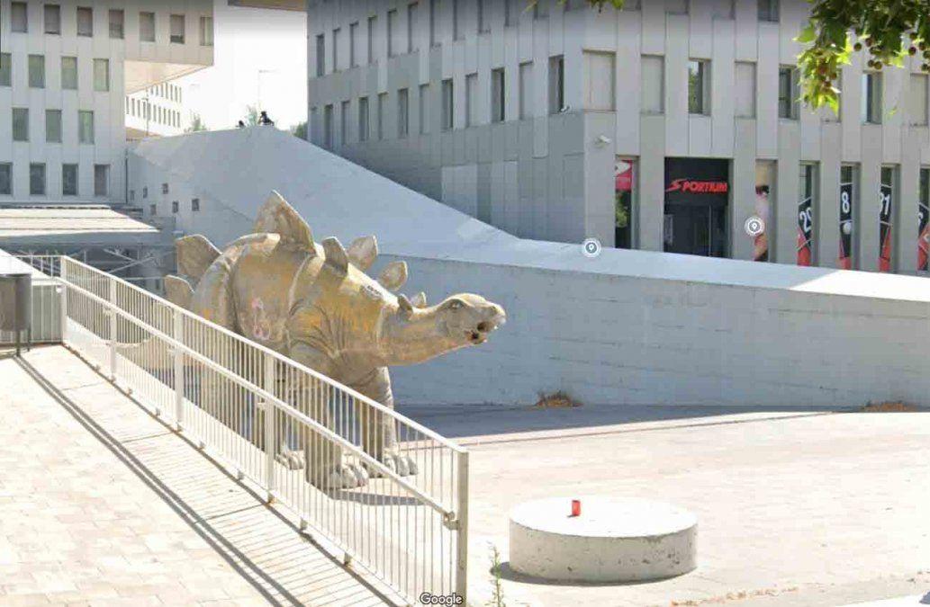El acceso principal al complejo de cines Cubics