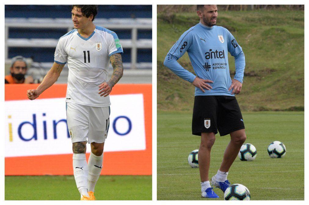 Stuani y Darwin Núñez, dos goleadores que caen por lesión y no estarán en Eliminatorias en Uruguay