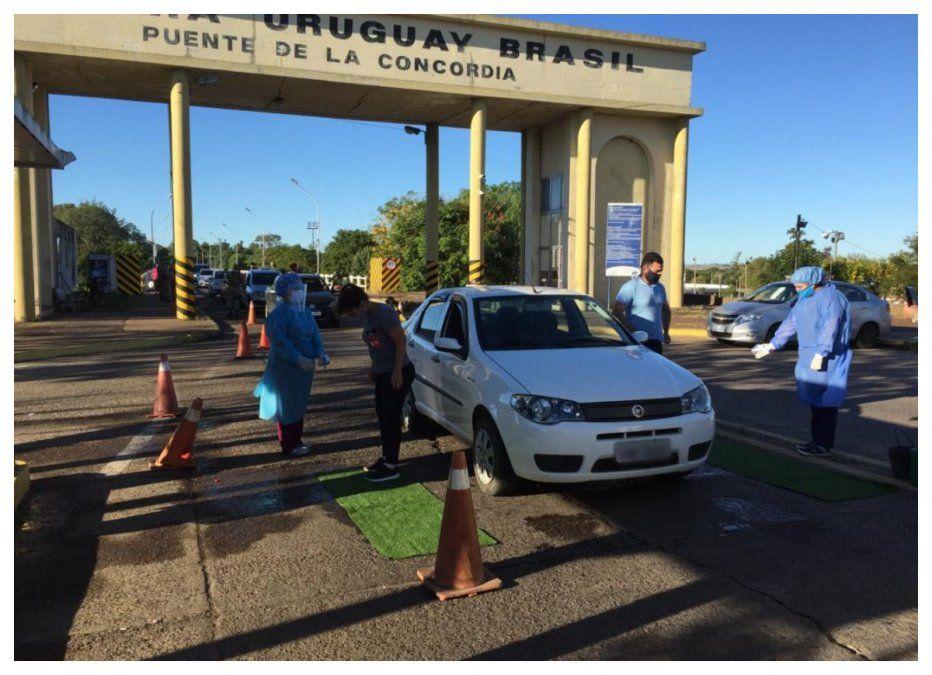 Los trabajos del MSP en la zona fronteriza Artigas-Quaraí para el control de la epidemia de Covid-19