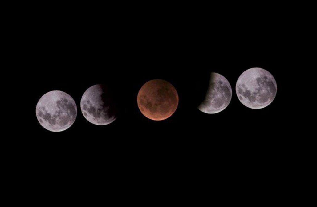 Este miércoles habrá eclipse total de Luna, ¿se verá en Uruguay?