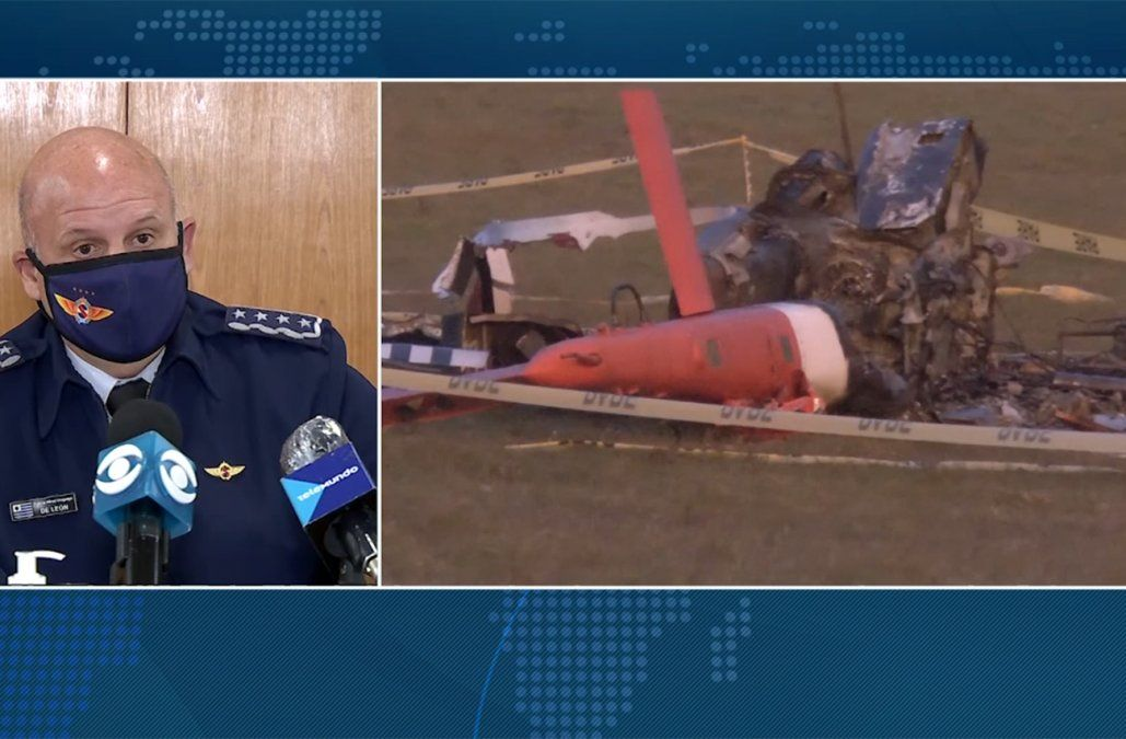 Una falla humana en tareas de mantenimiento provocó caída de helicóptero de FAU en Rocha