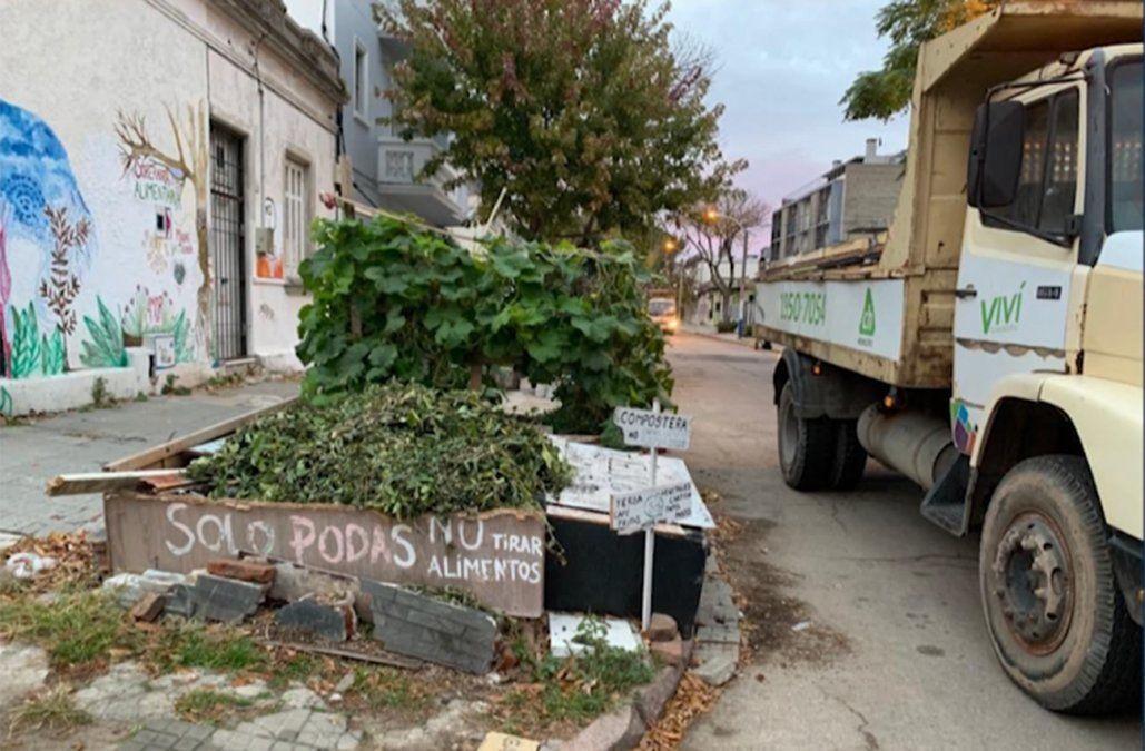 Vecinos rechazan retiro de huerta comunitaria; alcaldesa respondió que no tenían permisos