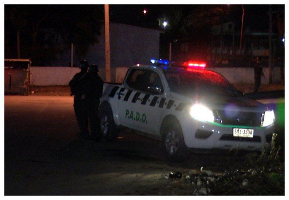 Agente policial abatió a dos delincuentes en barrio Maracaná
