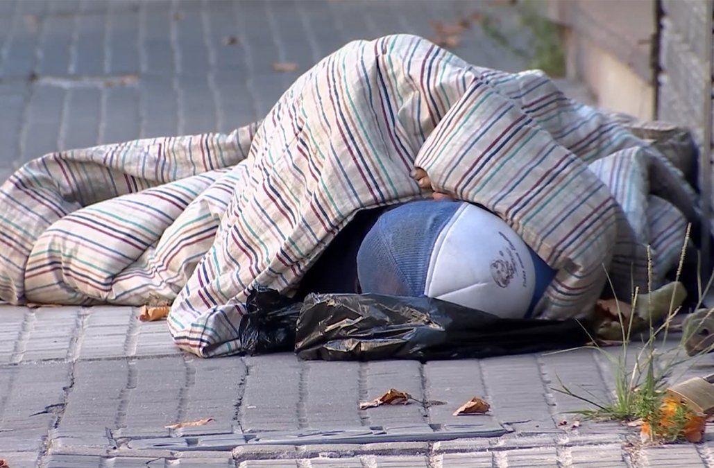 Apoyo policial para traslado compulsivo de personas en situación de calle