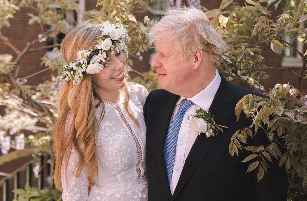 Downing Street confirma que Boris Johnson se casó en secreto