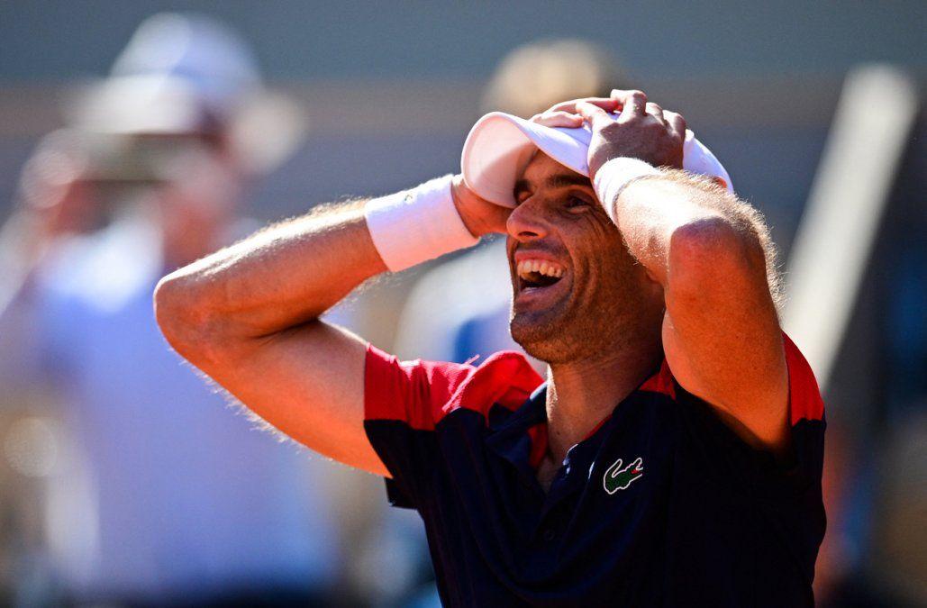 Andújar depara la primera gran sorpresa de Roland Garros