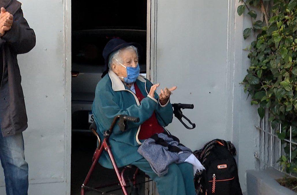María Élida cumplió 104 años y tuvo una hermosa sorpresa