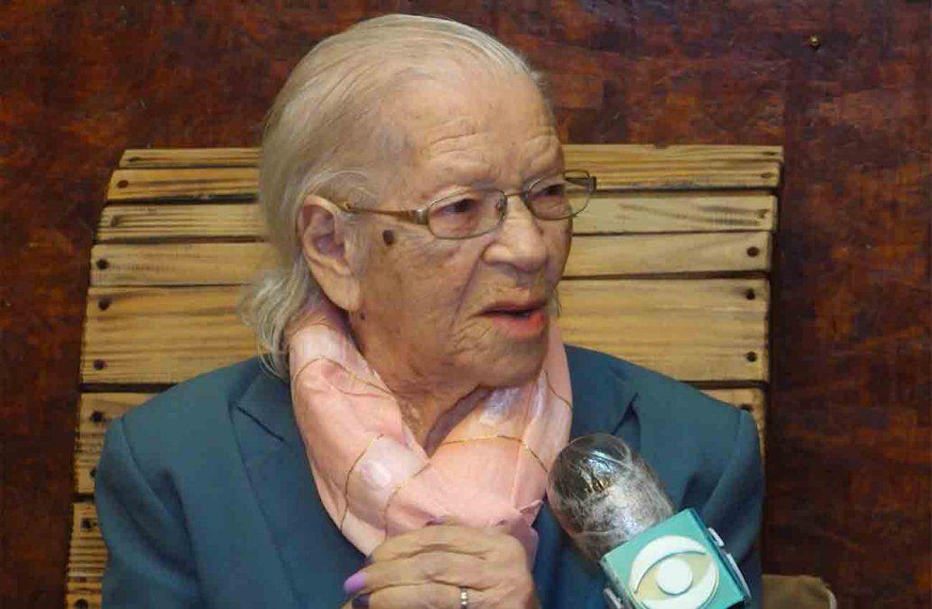 El saludo del presidente Lacalle Pou a América, una mujer que acaba de cumplir 106 años