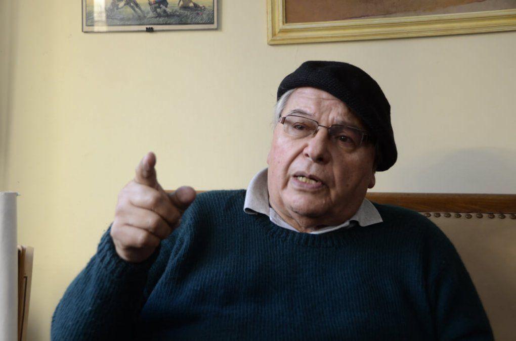 Eduardo Platero en una entrevista con el semanario Voces hace tres años