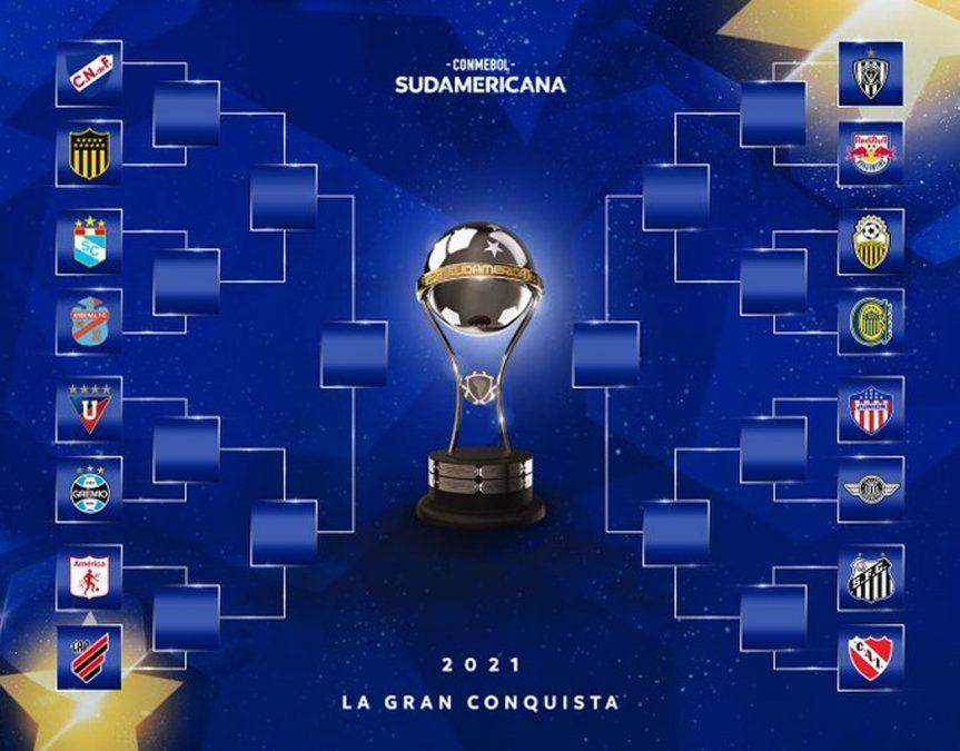 Habrá clásico entre Nacional y Peñarol por octavos de final de la Copa Sudamericana