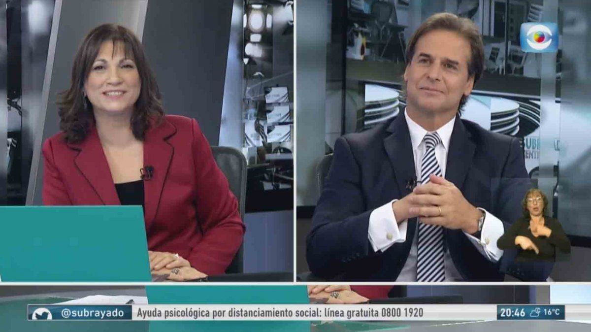 La entrevista completa al presidente Lacalle Pou en Subrayado
