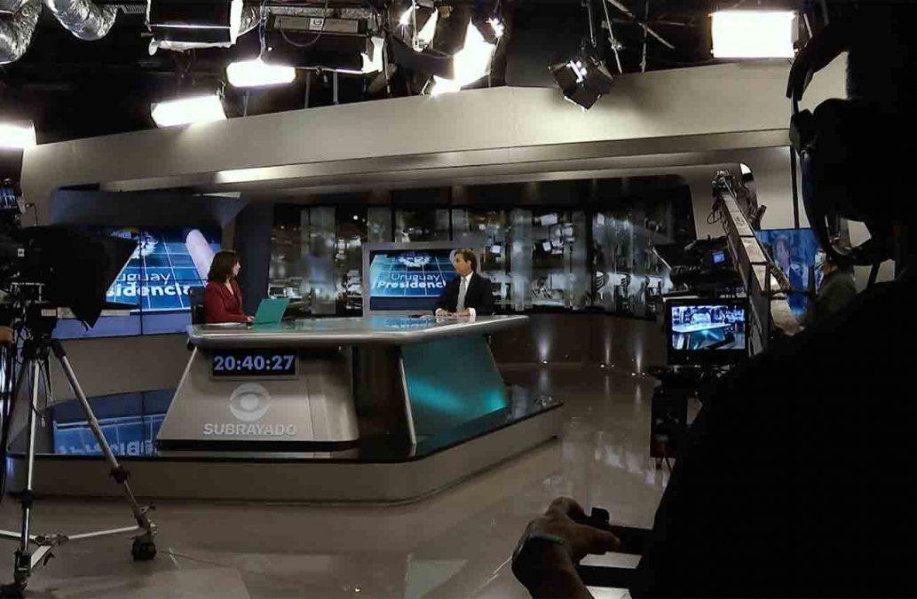 El detrás de cámaras de la entrevista al presidente